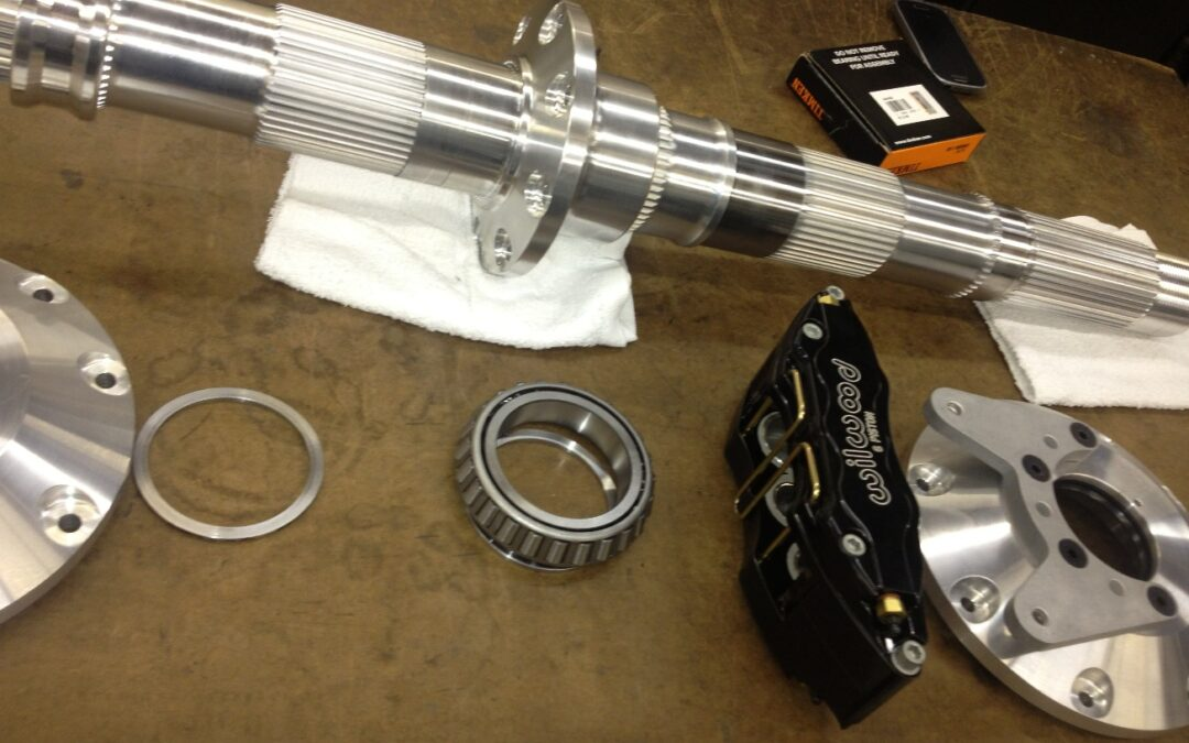 Special Axle For LSR Car