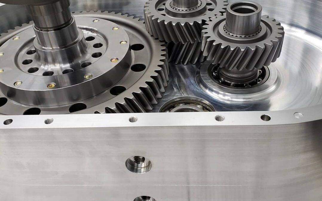 Dual Motor Torque Vectoring Gearbox